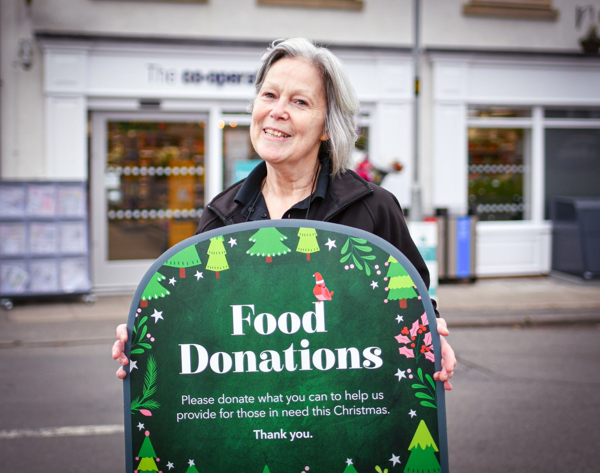Customers donate enough food to create over 22,000 meals through Christmas appeal